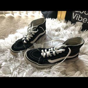 Vans Sk8-Hi Black high tops